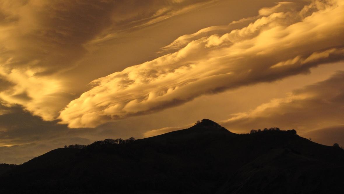 Ciel de foehn Pyrénées